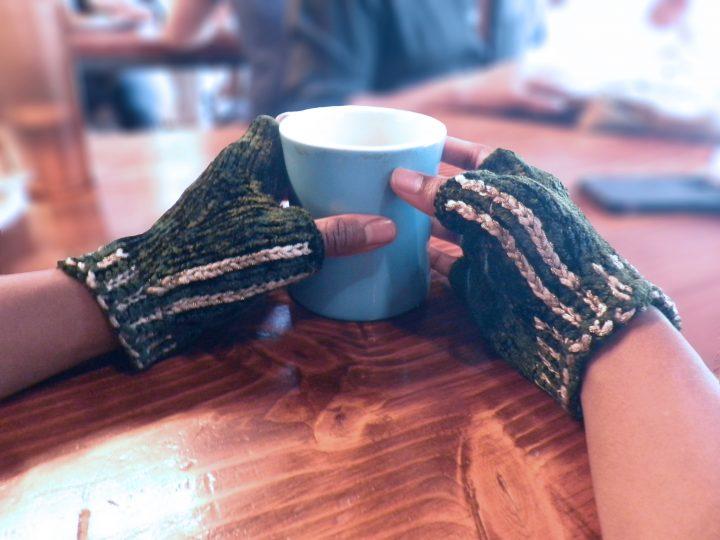 Just A L'il Romance Fingerless Gloves